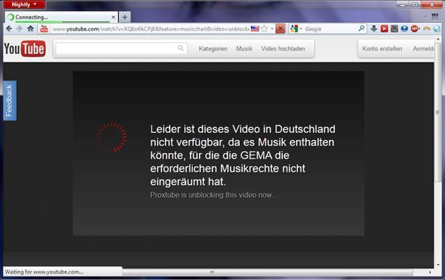 Con Proxtube puedes ver vídeos bloqueados en tu país