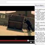Internet: Youtube lyrics, para ver letras de canciones en videos de youtube