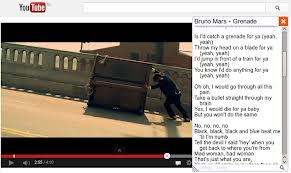 Internet: Youtube lyrics, para ver letras de canciones en videos de youtube