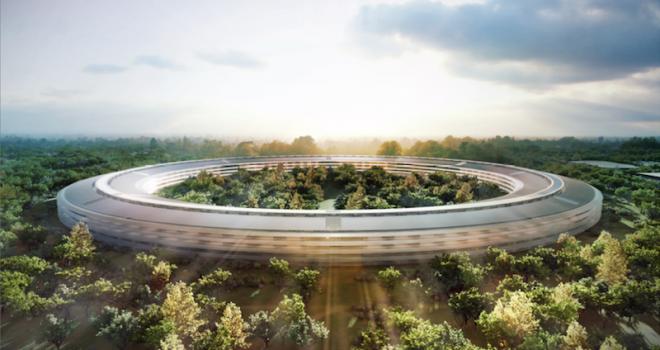 Conoce Apple Park, el nuevo campus futurista de Apple