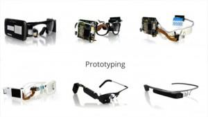 Los primeros diseños de las gafas Google Glass
