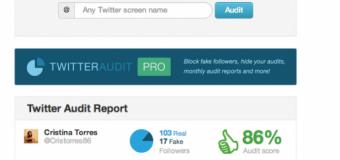 Descubre cuántos de tus seguidores de Twitter son reales
