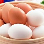 ¿Dónde están los huevos blancos?