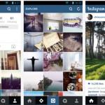 La aplicación Instagram estrena nuevo diseño