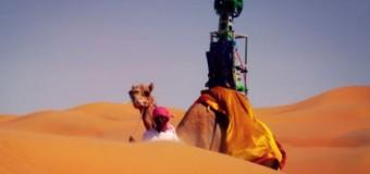 Google Street View permite explorar el desierto a lomos de un camello