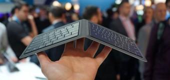 Microsoft presenta un nuevo teclado plegable