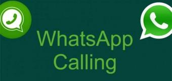 Llamadas por Whatsapp