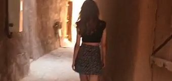 La joven con minifalda que ha escandalizado a Arabia Saudí